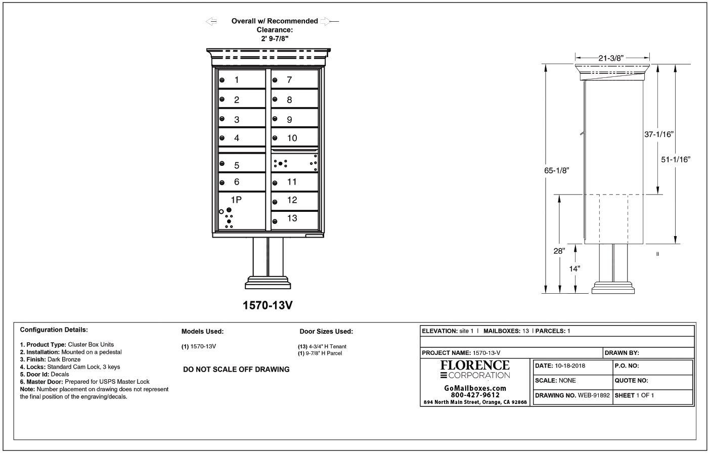 13 Door Classic CBU Diagram