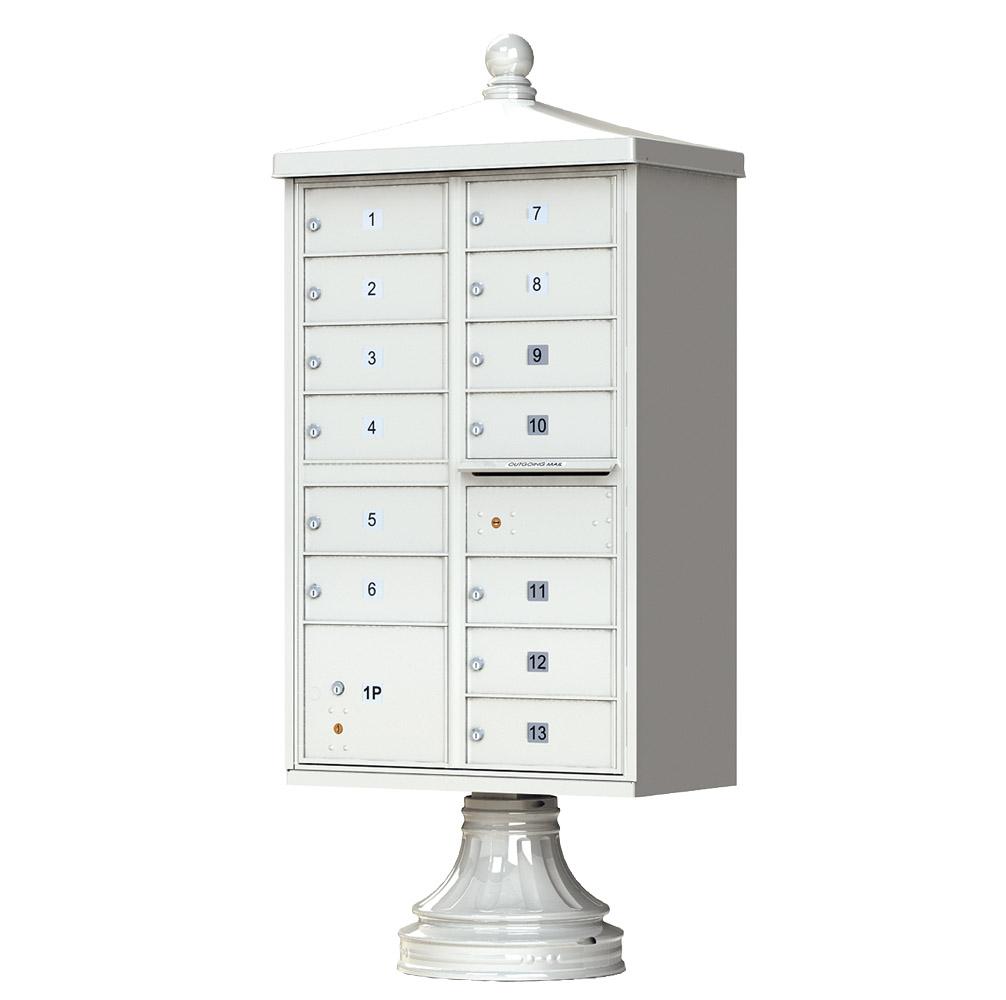 13 Door CBU Traditional Postal Grey