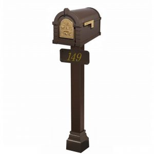 Mailbox with Post