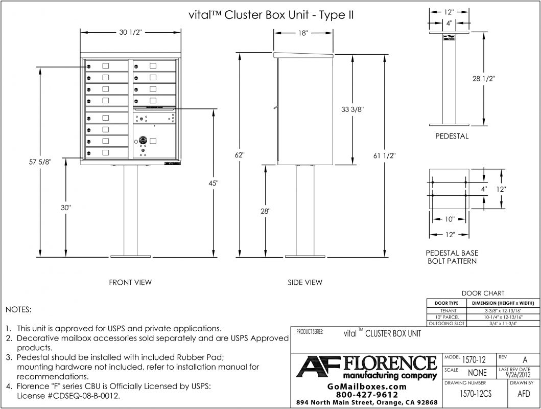 Florence-12-Door-CBU-Product-Dimensions