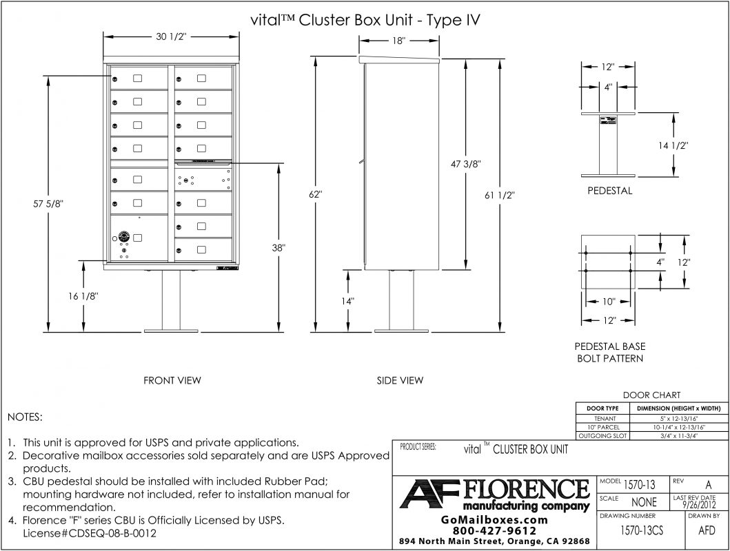 Florence-13-Door-CBU-Product-Dimensions