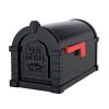 Gaines Eagle Keystone MailboxesAll Black