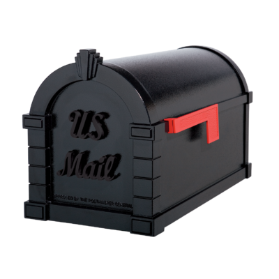 Gaines Signature Keystone MailboxesAll Black