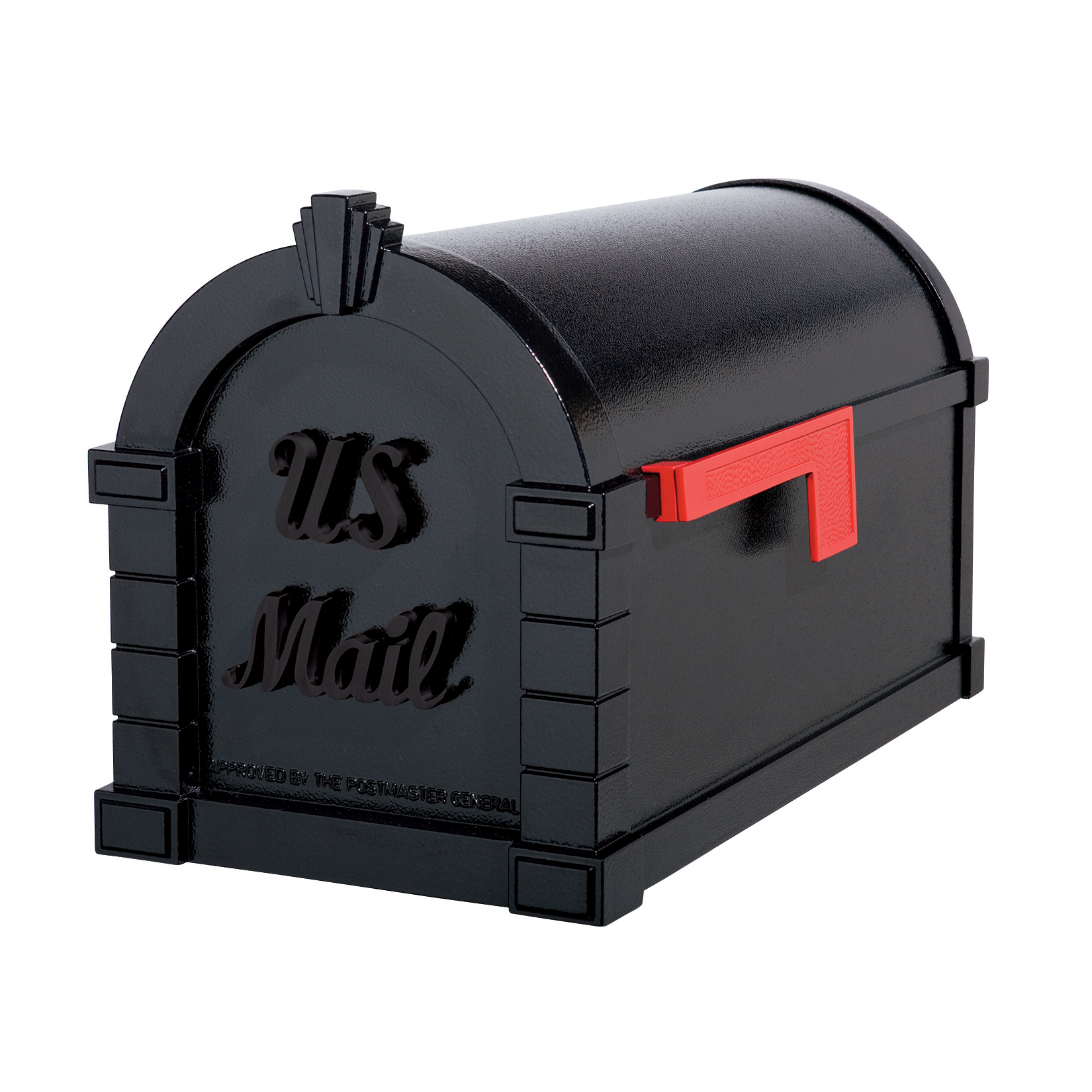 Gaines Signature Keystone Mailboxes - All Black