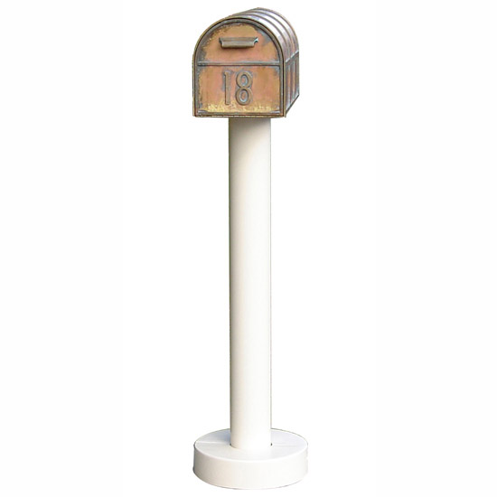 Streetscape Westchester Mailbox with Standard Post