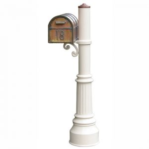 Streetscape Westchester Mailbox with Capistrano Post