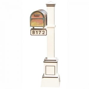 Streetscape Westchester Mailbox with Craftsman Post