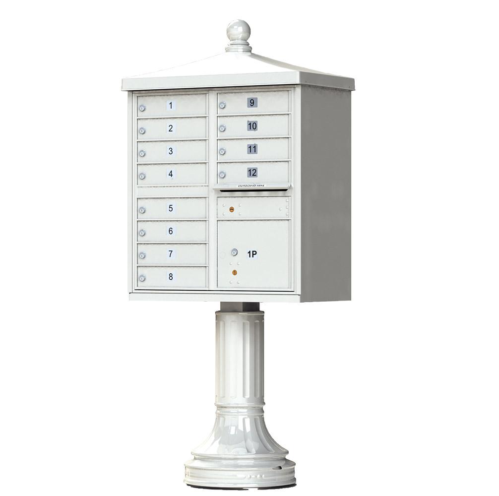 12 Door CBU Traditional Postal Grey