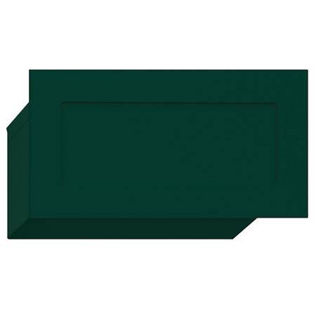 Salsbury Wall Mail Slot Green Finish