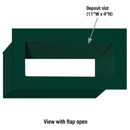 Green Mail Slot