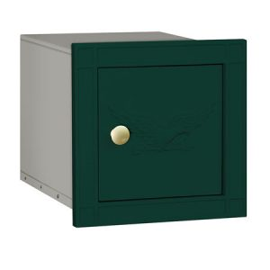 Salsbury Column Mailbox Green Eagle Door