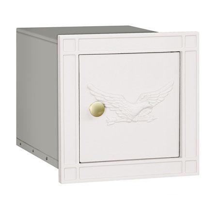 Salsbury Column Mailbox White Eagle Door