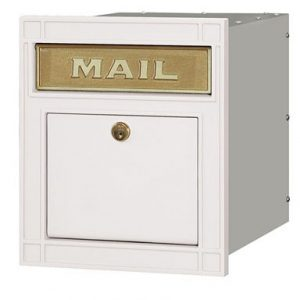 SALSBURY LOCKING COLUMN MAILBOX