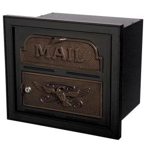 Gaines Classic Faceplate Black With Antique Bronze
