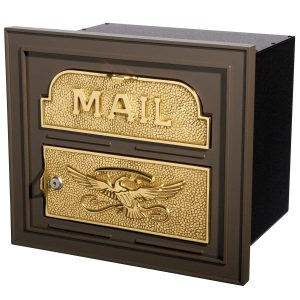 Gaines Locking Classic Faceplate Mailbox
