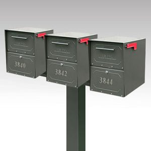 Oasis triple junior mailbox