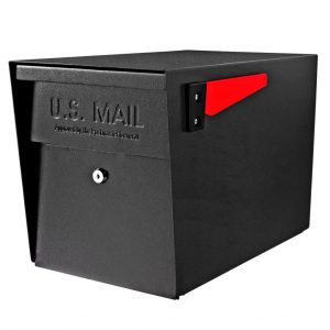Locking Large Capacity Post Mount Mailboxes – Without Post