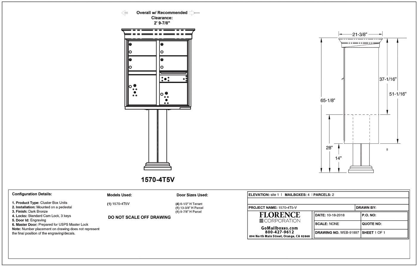 4 Door Classic CBU Diagram