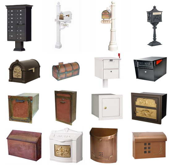 ALL LOCKING MAILBOXES