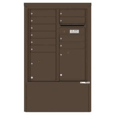 10 Door Florence Versatile 4C Depot Cabinet Cluster Mailboxes 4CADD-10 Antique Bronze
