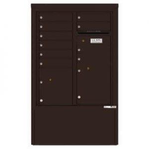 10 Door Florence Versatile 4C Depot Cabinet Cluster Mailboxes 4CADD-10 Dark Bronze