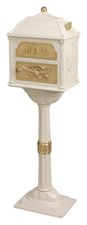 Gaines Classic Almond with Polished Brass