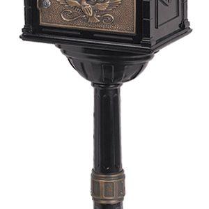 Gaines Classic Black with Antique Bronze