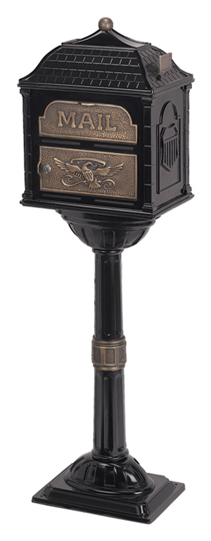 Gaines Classic Black with Antique Bronze