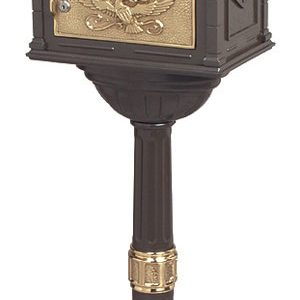 Gaines Classic Bronze with Polished Brass