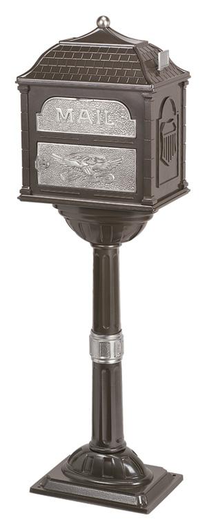 Gaines Classic Bronze with Satin Nickel