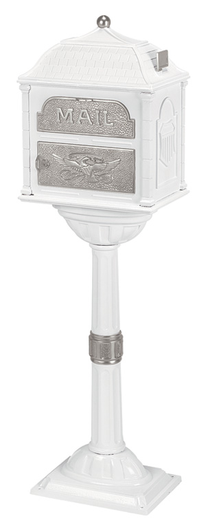 Gaines Classic White with Satin Nickel