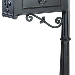 311K Imperial Mailbox Systems BLACK