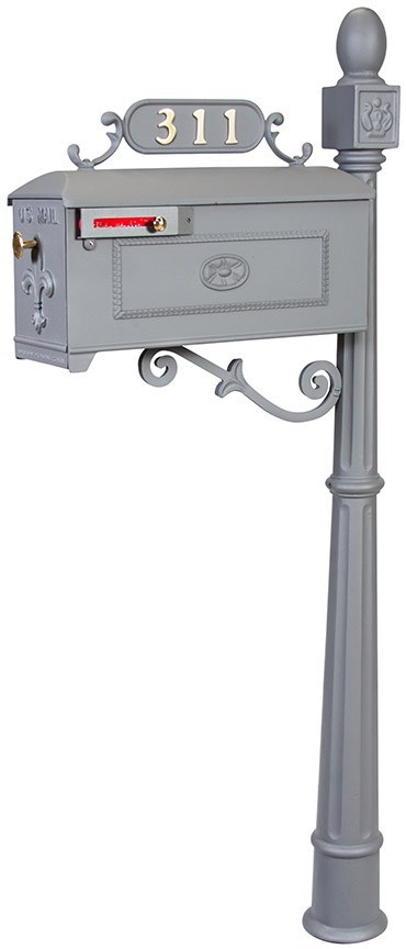 311K Imperial Mailbox Systems GREY