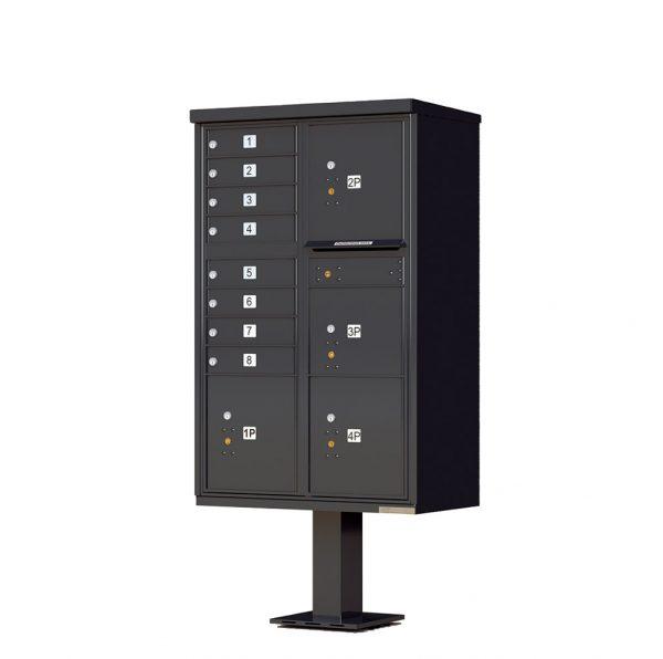 8 Door 4 Parcel CBU Black 1570-T6BK