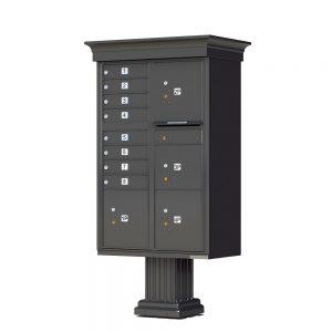 8 Door 4 Parcel CBU Florence Classic Dark Bronze 1570-T6VDB
