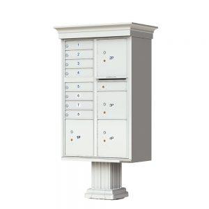 8 Door 4 Parcel CBU Florence Classic Postal Grey 1570-T6VPG