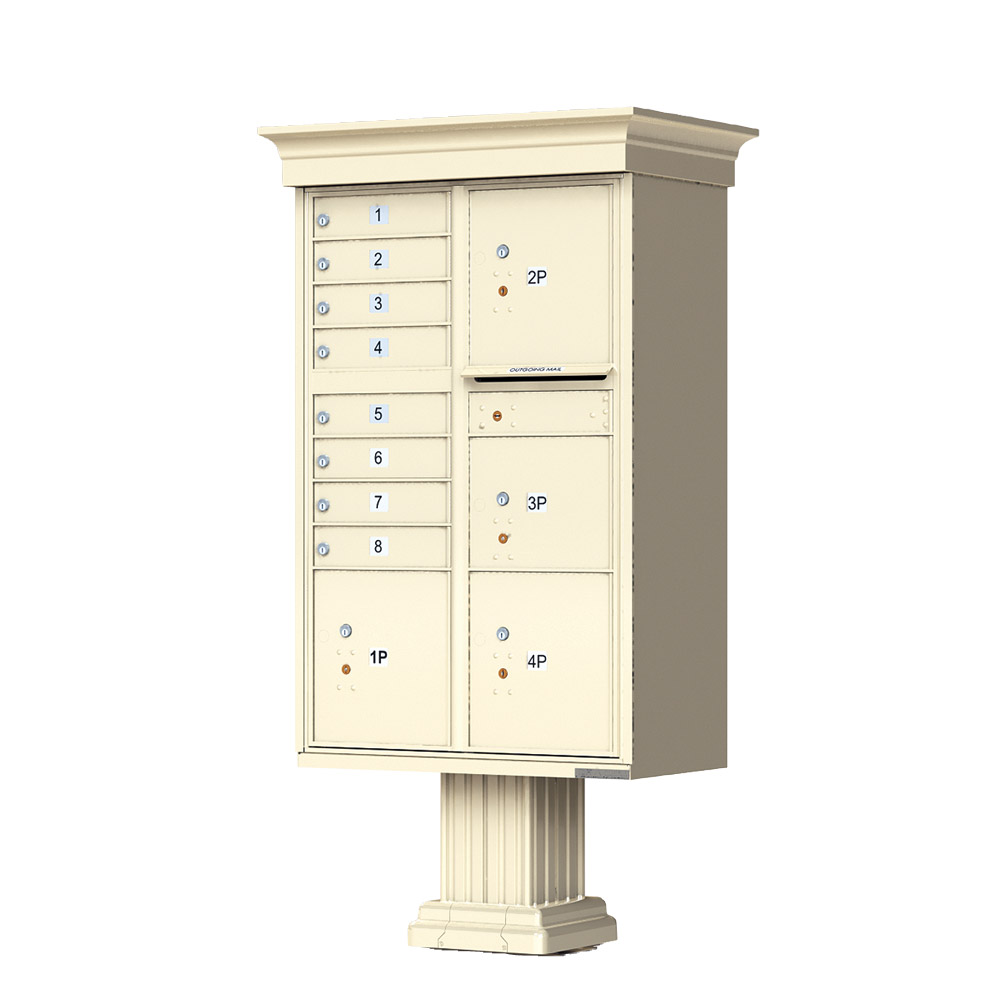 8 Door 4 Parcel CBU Florence Classic Sandstone 1570-T6VSD