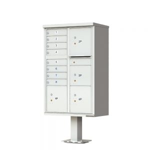 8 Door 4 Parcel CBU Postal Grey 1570-T6PG