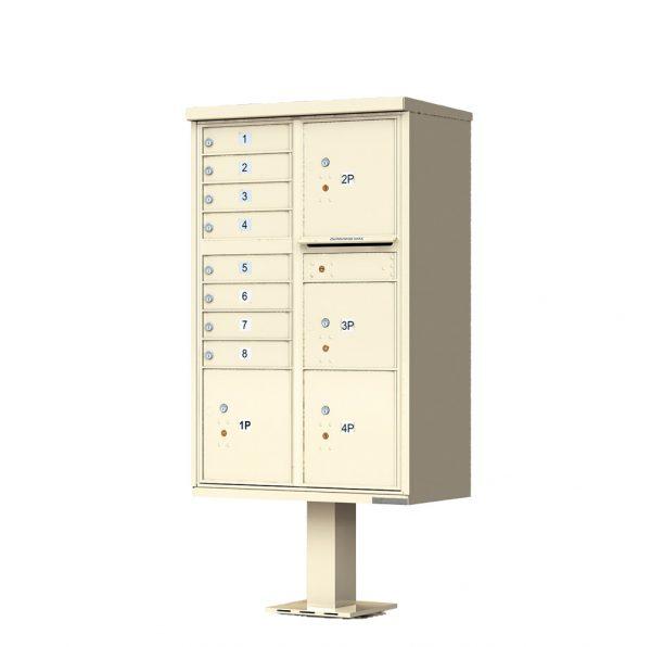 8 Door with 4 Parcel Lockers