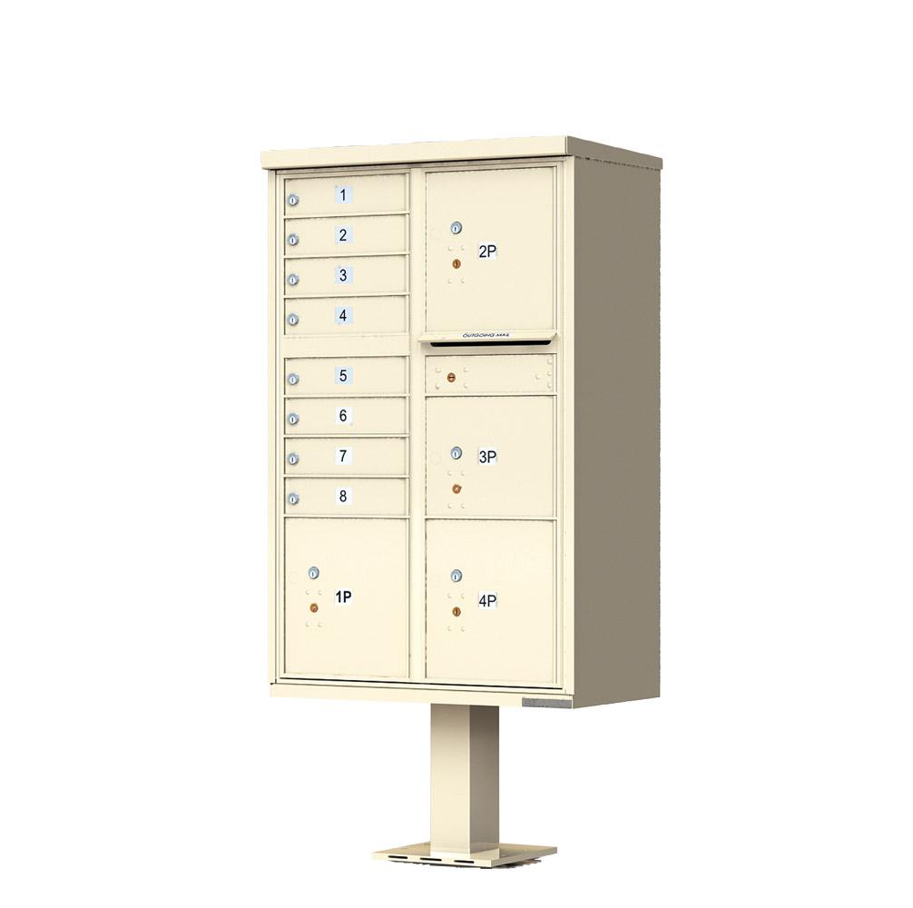 8 Door 4 Parcel CBU Sandstone 1570-T6SD