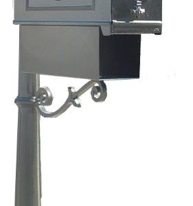 Imperial Mailbox with Newspaper Holder