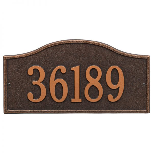 Oil Rubbed Bronze Rolling Hills Plaque – Grand Wall