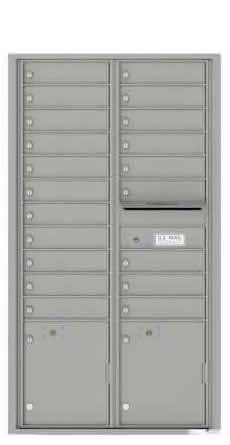 20 Tenant Recessed Mailbox