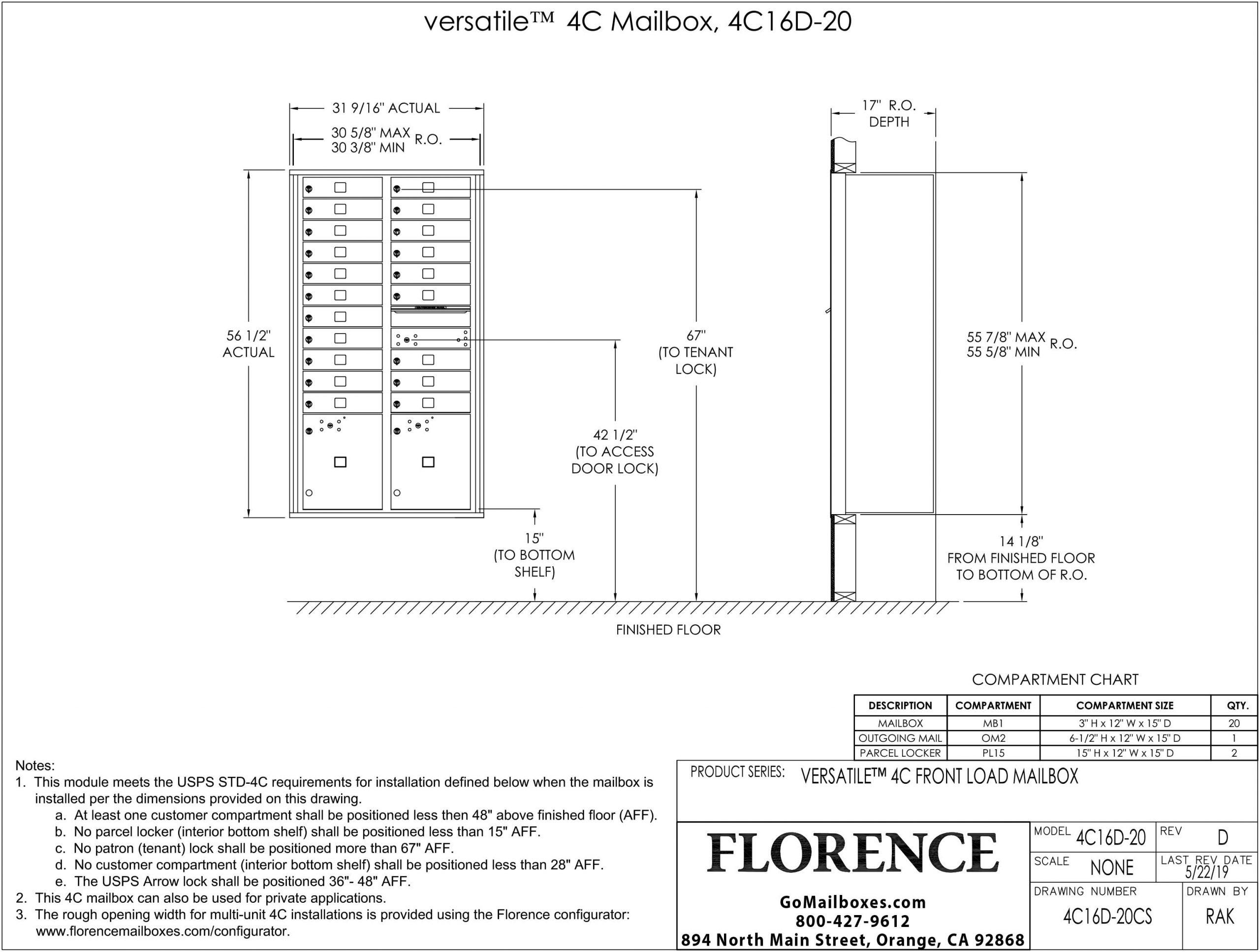 4C16D-20CS Diagram