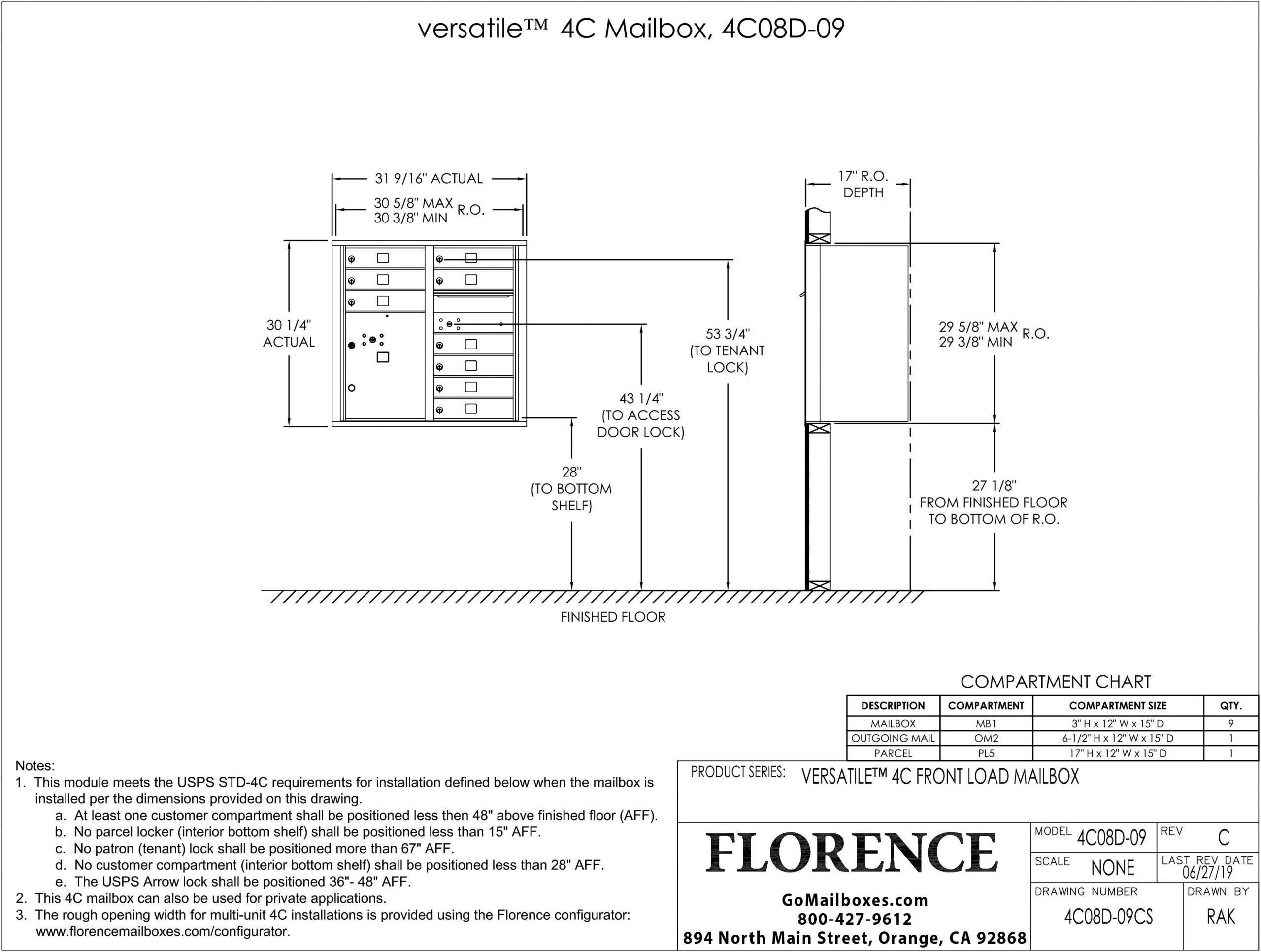 4C08D-09CS-Dimensions