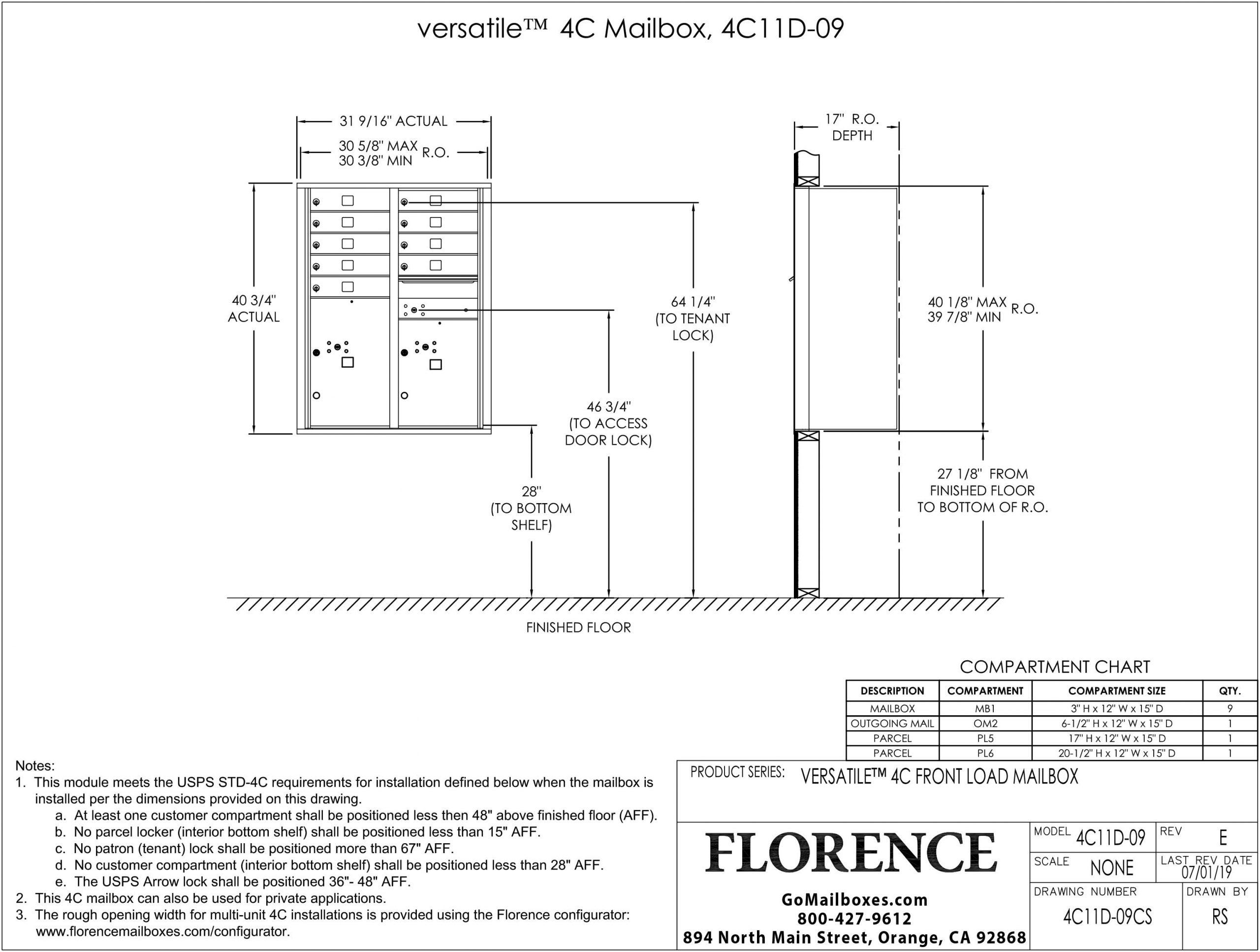 4C11D-09CS-Dimensions