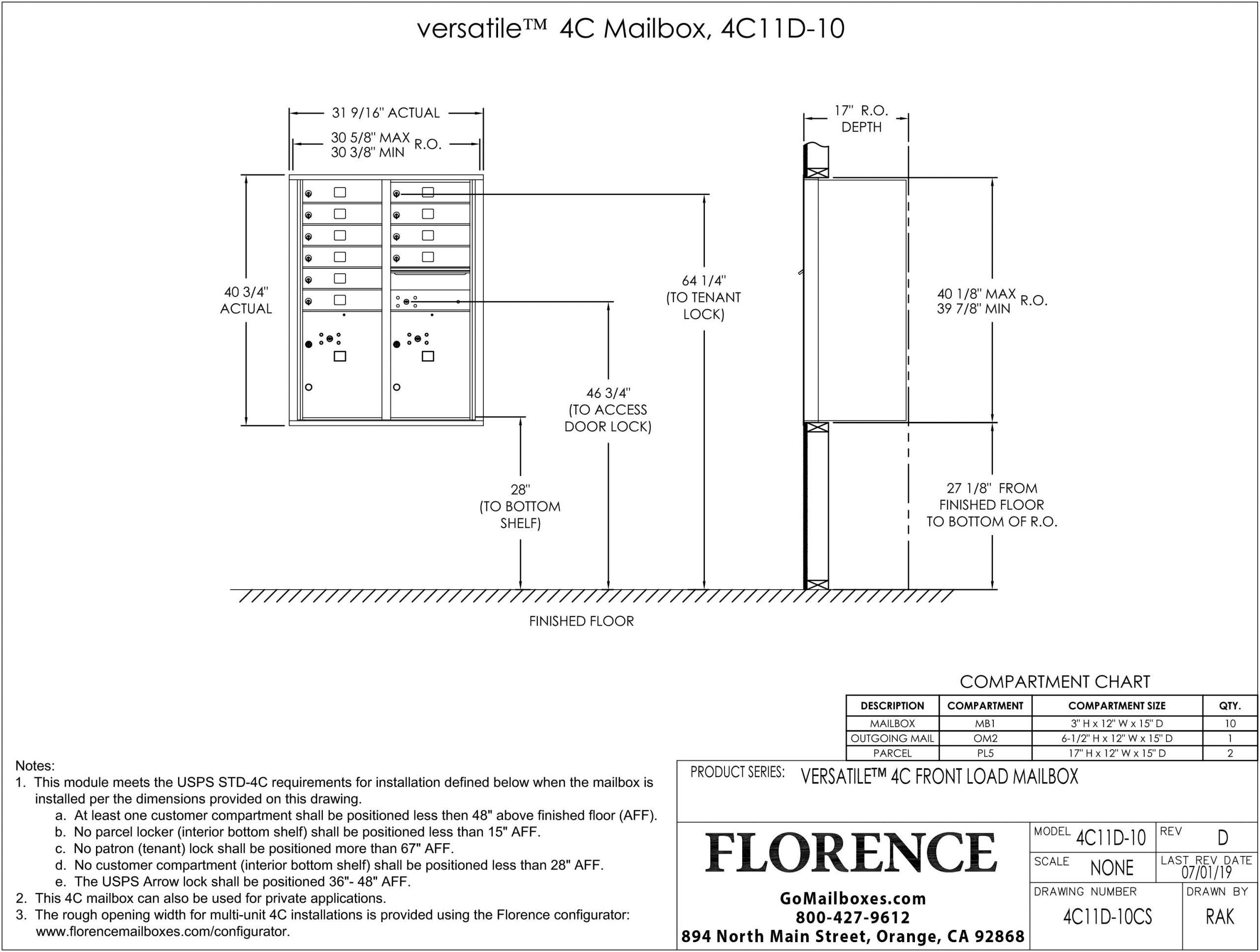 4C11D-10CS-Dimensions
