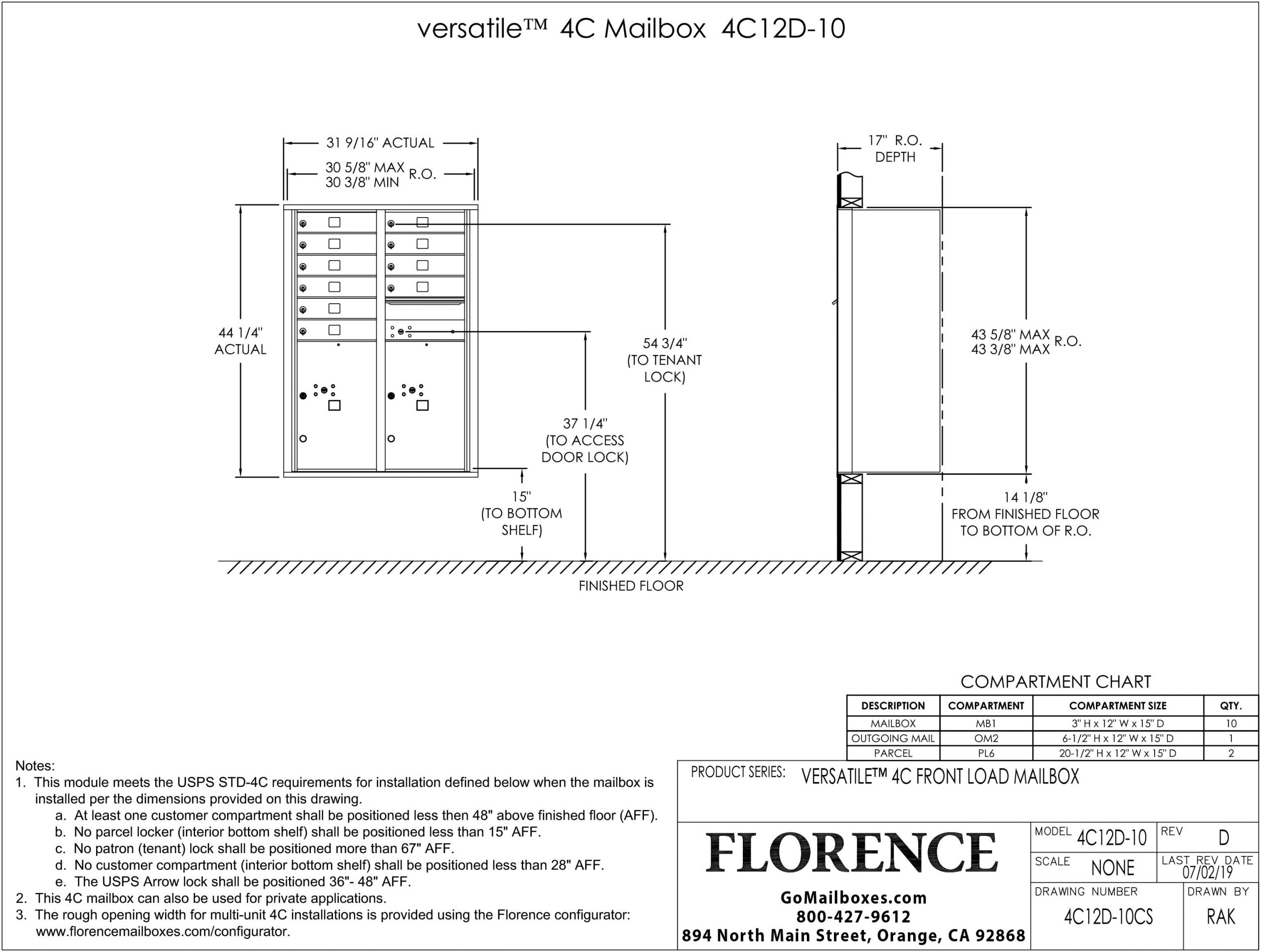 4C12D-10CS-Dimensions