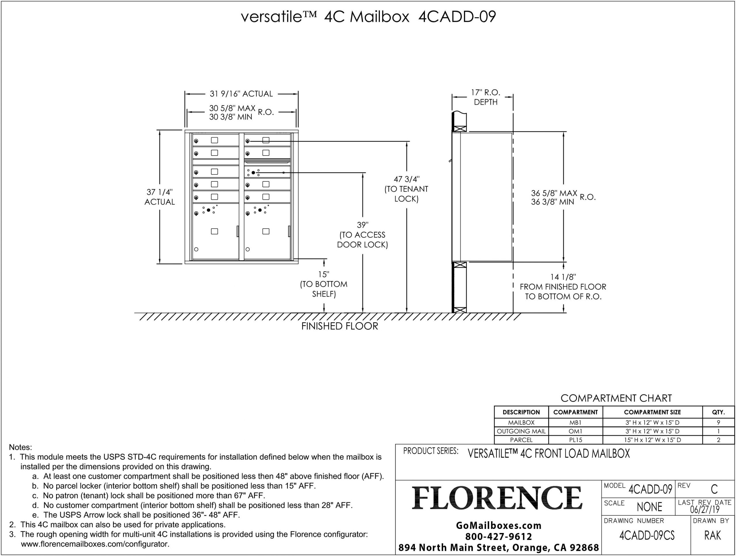 4CADD-09CS-Dimensions