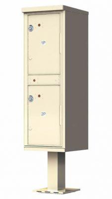1590T1-2 Door Florence Outdoor Parcel Locker